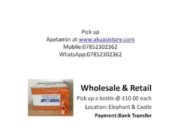 Apetamin  Vitamins Syrup Pick-up